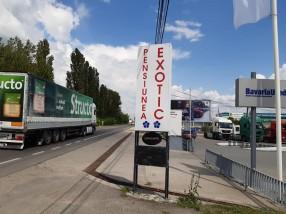 Cazare pensiunea acces facil masini mari Craiova