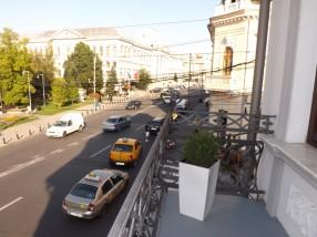Vedere balcon Hotel Splendid Craiova